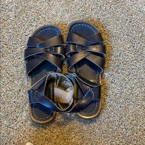 Navy Blue salt water sandals